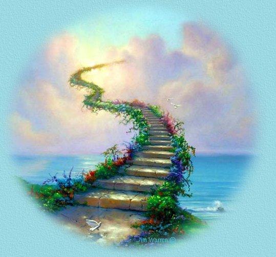 Image result for dog Rainbow bridge animated